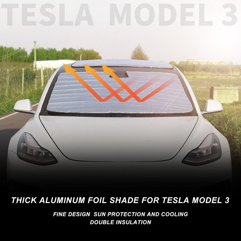 Sonnenschutz für Tesla Model 3