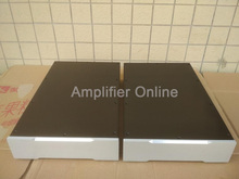 1PCS Black/Silver Full Aluminium Enclosure Split Amplifier Chassis Tube Amp Case DIY Box Size 260X70X408MM AP56