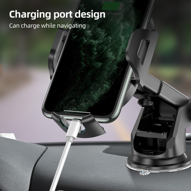 Windshield Gravity Sucker Car Phone Holder For Phone Universal Mobile Support For iPhone Smartphone 360 Mount Stand in Car 2