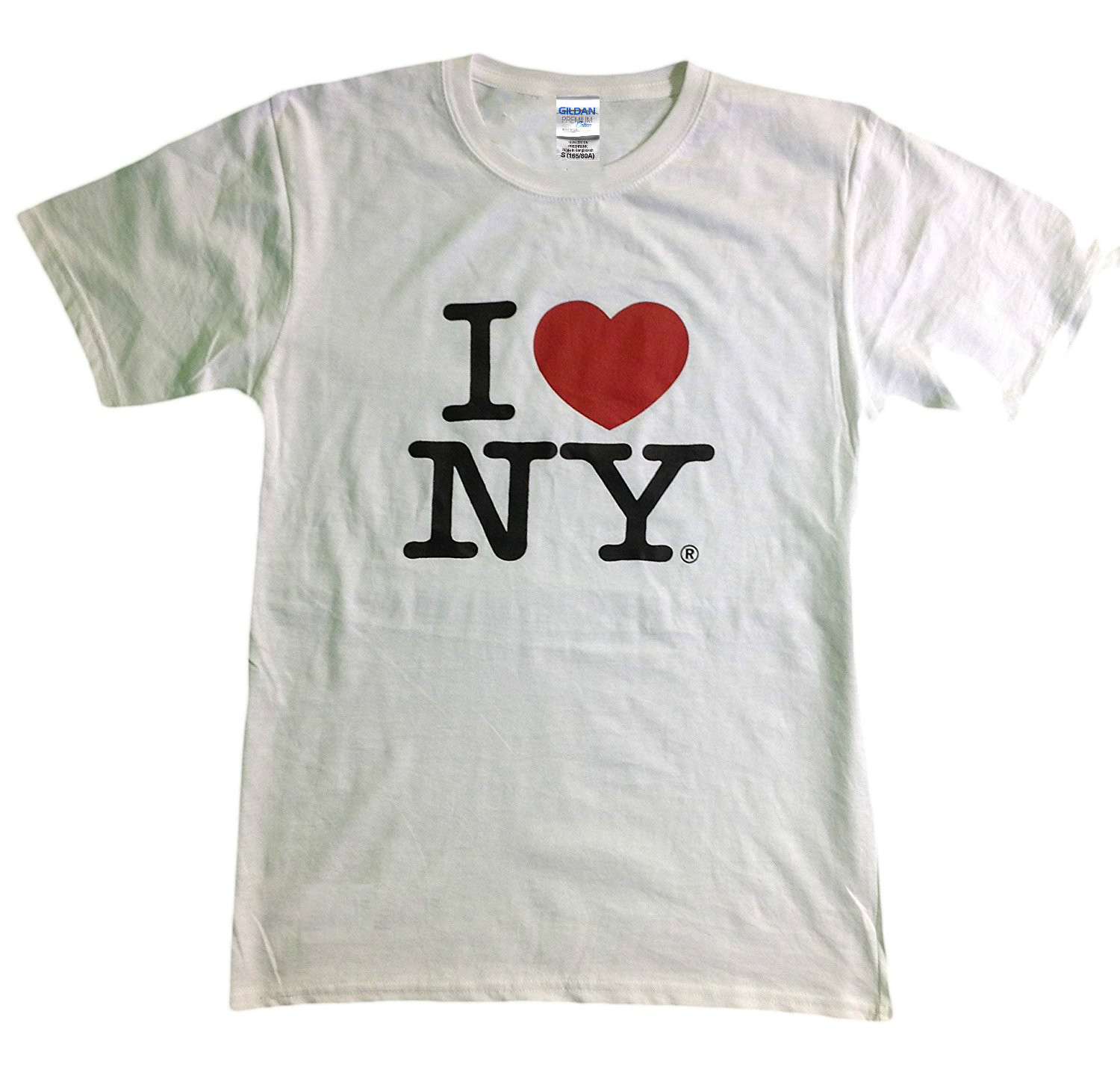 Men And Woman T <font><b>Shirt</b></font> Free Shipping <font><b>I</b></font> <font><b>Love</b></font> <font><b>Ny</b></font> New York Short Sleeve Screen Print Heart T <font><b>Shirt</b></font> White image