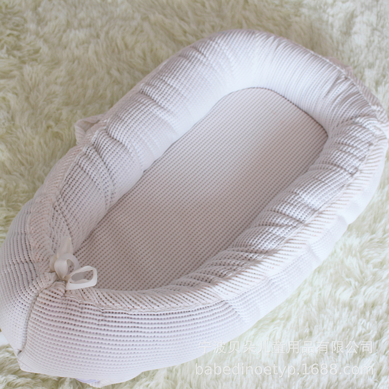 Baby Cot Crib Portable Crib Washable Baby Bed Outdoor  Multifunction Breathable Cradle Mattress Removable YBD014