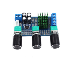 TPA3116D2 Module Durable Stereo Electronic Sound 2x80W DC12 24V Mini Dual Track High Power Easy Install Amplifier Board Digital