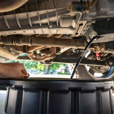 tanque coletor de oleo do motor wast