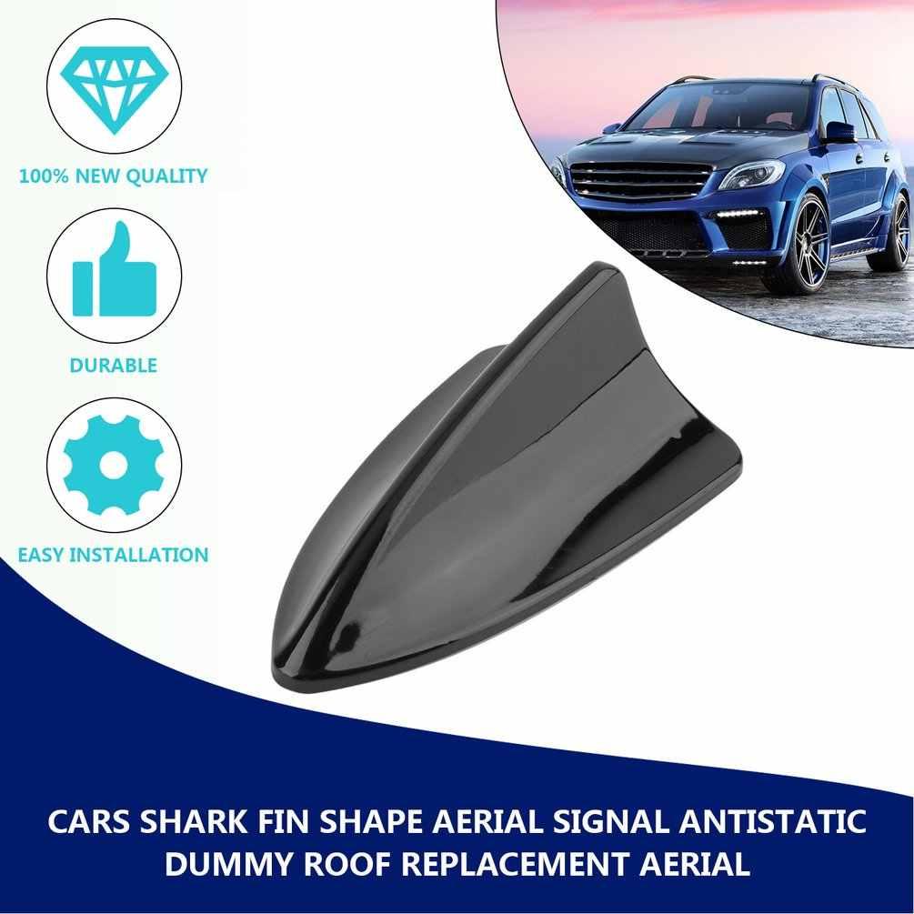 Mobil Antena Mengganti Tahan Air Auto Shark Fin Bentuk Aerial Sinyal Antistatik Dummy Udara Atap Mobil Alat Pengganti