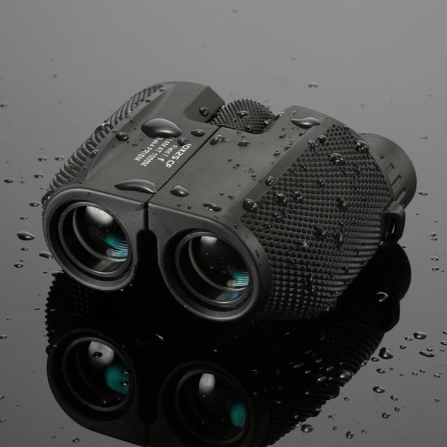 Professional Binoculars 10x25 BAK4 Prism High Powered Zoom Binocular Portable Hunting Telescope Pocket Scope for Sports Ttravel