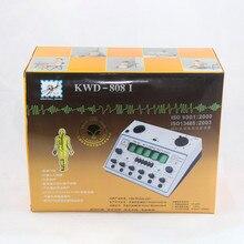 Elettro Agopuntura Stimolatore KWD808I 6 Uscita Patch Elettronico Massager di Cura D 1A Agopuntura Stimolatore Macchina KWD 808 I