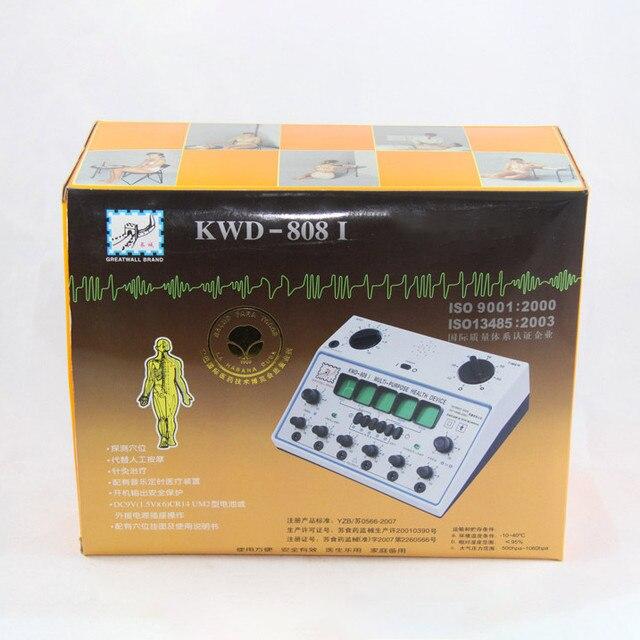 KWD808I stimulateur dacupuncture électrique, masseur électronique, 6 sorties, soins D 1A, stimulateur dacupuncture KWD 808 I