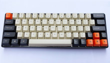 MK64 Mechanical Keyboard Max Keys with Led Backlit and Laser-etched PBT Keycaps Macro Fully Programmable(China)