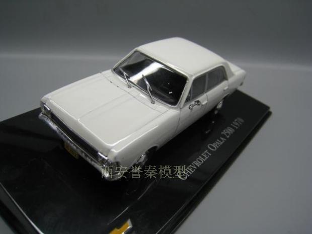 I xo 143 chevrolet opala 2500 1970 modelo de liga carro diecast metal brinquedos presente aniversário para crianças menino