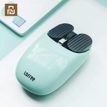 Youpin LOFREE Bluetooth אלחוטי עכבר 2.4G/Bluetooth כפולה מצב חיבור ייחודי מחווה פונקציה רב מערכת תואם