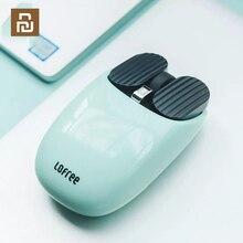 Youpin ratón inalámbrico Bluetooth LOFREE, 2,4G, conexión de modo Dual con Bluetooth, función de gestos única, Compatible con multisistema