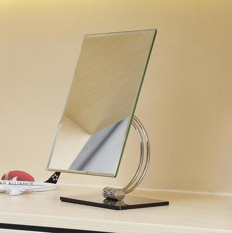 Espelho da composi o da vaidade do tabletop da rota o do giro do cromo
