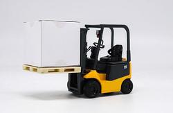 Новый оригинальный 1:24 nichiyu EC погрузчик сплав погрузчик модель Инженерная модель сцены Коллекция Модель