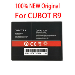 100% Original R 9 2600mAh For CUBOT R9 CellPhone In Stock High quality Battery+Tracking number