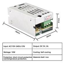 цена на 5V Power Supply 2A 3A 5A 10A 20A 30A 40A 60A Power Supply AC DC 110V 220V To 5V Aluminum Led Driver 5 Volt Lighting Transformers