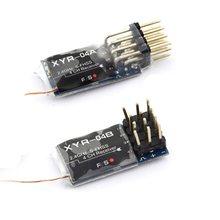 Compatível com futaba mini receptores para rc 4ch 6ch, resposta rápida e alta sensibilidade recomendada para t6j/t14gs/16tamanho/18tamanho/18mz