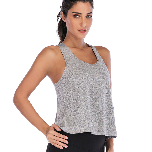 Breathable Workout Tops Quick Dry Sports Wear for Women