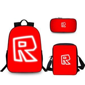 3 pcs/set game Backpack ROBLOX