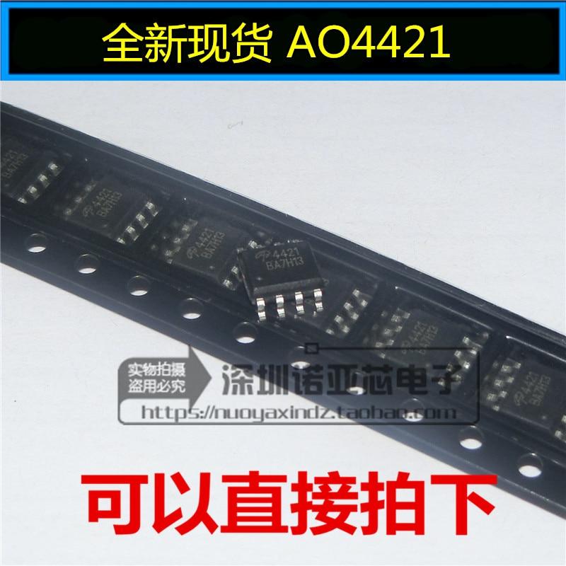 10pcs/lot New AO4421 4421 Patch SOP-8 MOS FET P-Channel