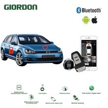 Universal Keyless Entry PKE Comfort System ios Android APP Phone Car Alarm Boost Remote Start Engine volkswagen