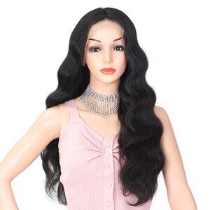 Объемная волна 13х4 парик с фронтальным кружевом, бразильские волосы, парики с короткой стрижкой, парики с фронтальным кружевом для женщин, н...