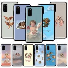 Renaissance Angels Silicone Phone Case For Samsung Galaxy S10 S10e S10 Lite S20 Ultra 5G S8 S9 S20 Plus S7 Edge Back Cover Couqe tv riverdale jughead jones silicone case for samsung galaxy s20 ultra 5g s10 s10e s9 s8 s7 s10 s9 s8 plus s7 edge phone cover
