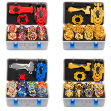 2021 Gold Takara Tomy Launcher Beyblade Burst Arean Bayblades Bables Set Box Bey Blade Toys For Child Metal Fusion New Gift