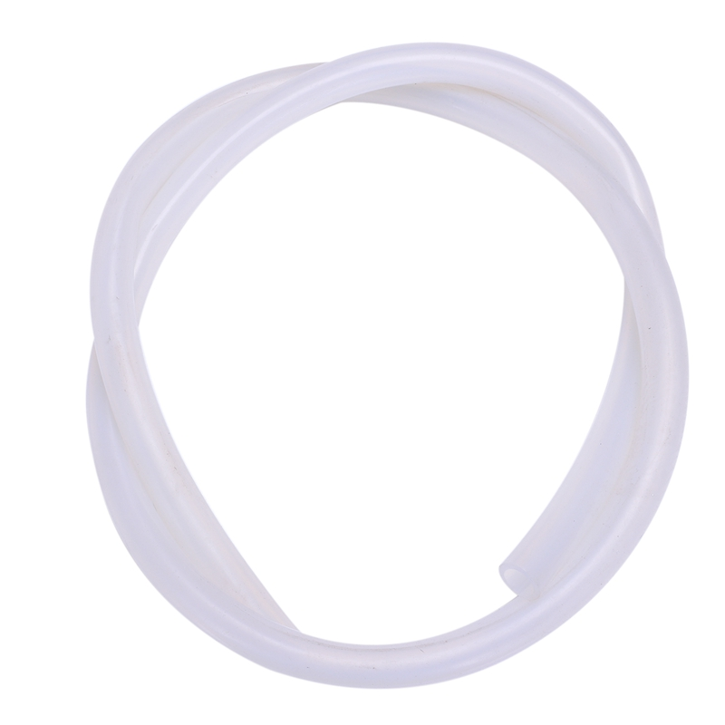 9mm ID X 13mm OD Food Grade Flexible Hose Silicone Tubing 1M Clear