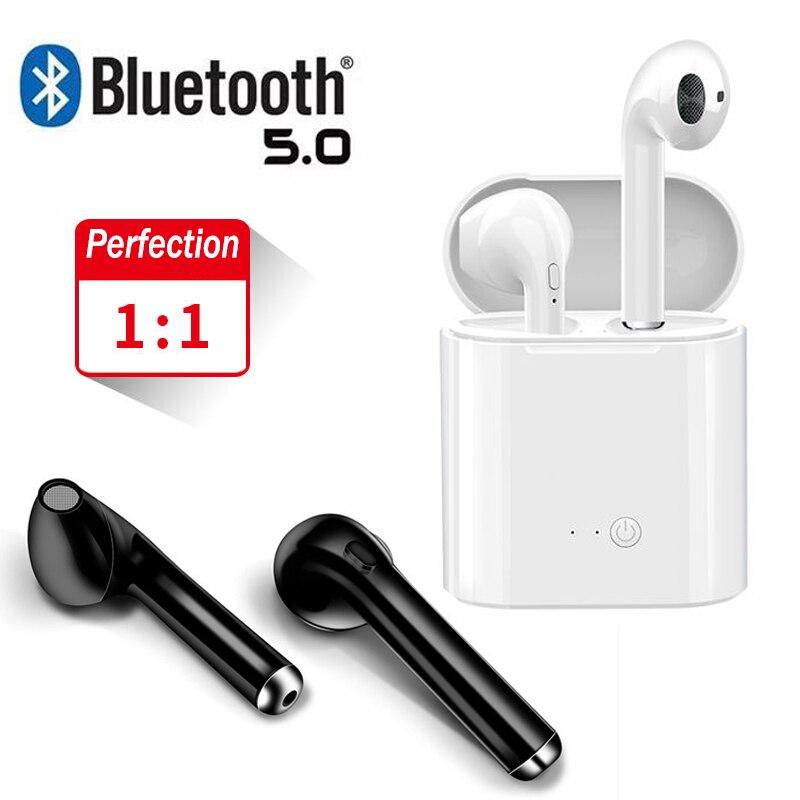 I7S/I9S/I11/I12 TWS Wireless Headphones Bluetooth 5.0 HIFI Bass In-ear Earphones  Mini Earbuds Stereo Music For Iphone X Samsung