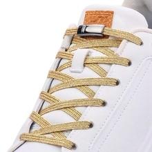 Новые магнитные шнурки эластичные шнурки творческий быстрые без галстука кружева дети взрослые унисекс досуг кроссовок замок шнурки
