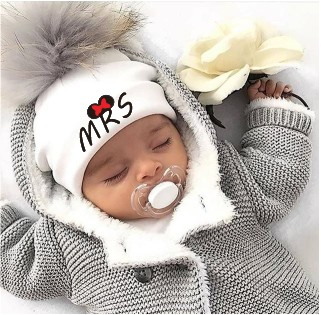 Hats Baby Photo-Props Girl Cap Boy Accessories Newborn Toddler Cotton Children's Mr Pom-Pom