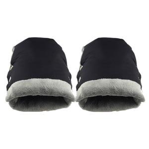 Image 5 - Guantes de invierno para cochecito de bebé, manoplas cálidas, asa de cubierta para cochecito, manoplas calentadoras de mano para silla de paseo, accesorios para Yoyo Yoya