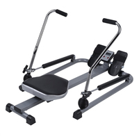 indoor Hydraulic rowing machine fitness 360 Degree Multifunctional glider rowing machine Fitness Equipments Body Building hot