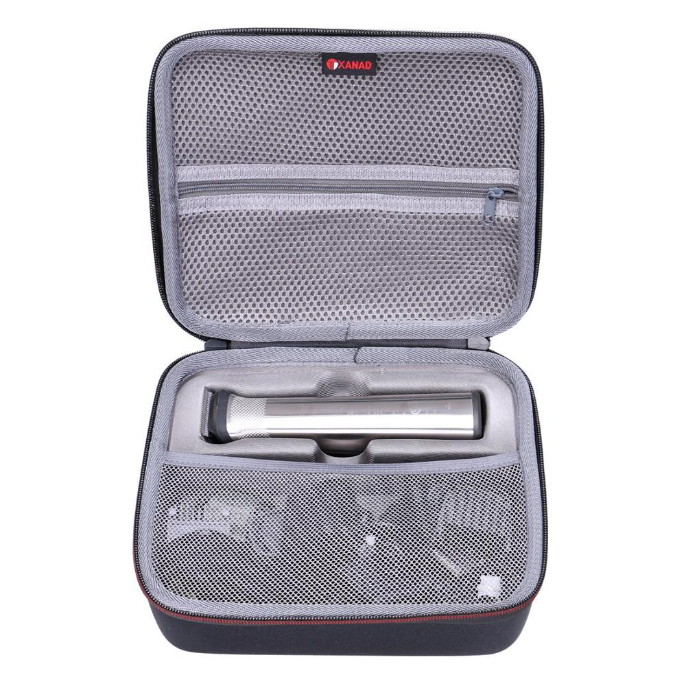 XANAD Waterproof EVA Hard Case For Philips Norelco Multi Groomer MG3750/50-13, MG7750/49-23
