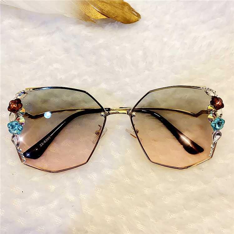 2020 ретро солнцезащитные очки Бабочка