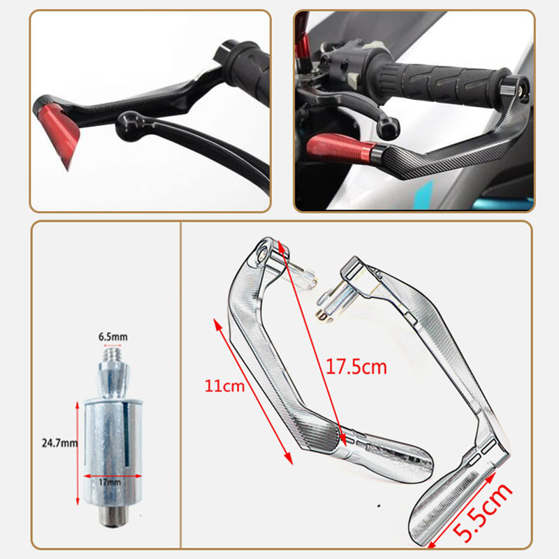 2014 2015 2016 2017 2018 Motorcycle 7 8 quot Clutch Lever Protector Hand Guard Aluminum alloy System for BMW S1000R in Exhaust amp Exhaust Systems from Automobiles amp Motorcycles