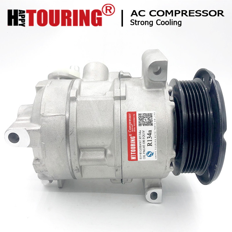 Grade A Certified Used Automotive Part A//C Compressor fits Dodge Caliber - Replaces 5058228AG,5058228AE,5058228AF |