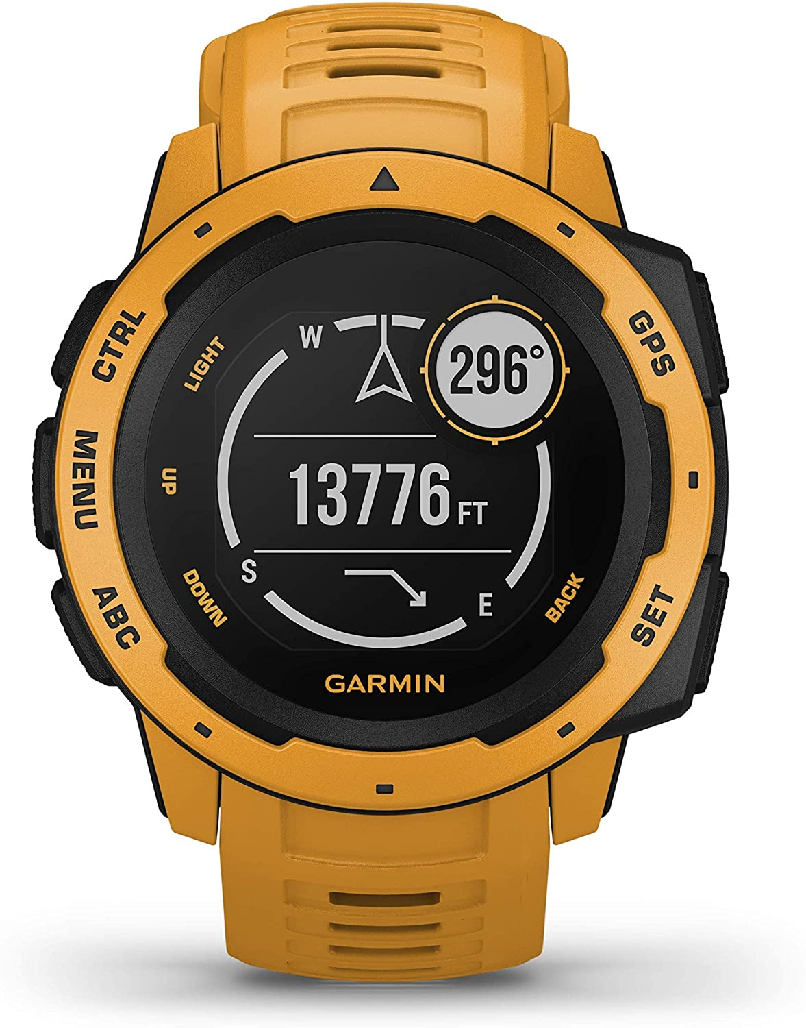 Permalink to Garmin Instinct Rugged Outdoor GPS Watch Features Glonass and Galileo Heart Rate Monitoring and 3-Axis Compass Smart Watch