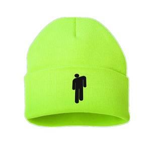 Beanies Bonnet-Cap Winter Hat Embroidery Skullies Knitted Eilish Hot-Billie Girls Boys