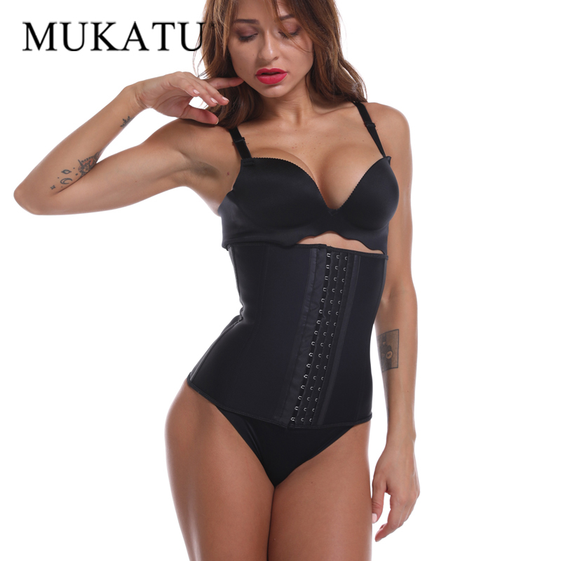 9 Steel Bone Waist Trainer Shapewear Body Shapers Women Corset Slimming Belt Waist Shaper Cinta Modeladora Latex Corset Cincher