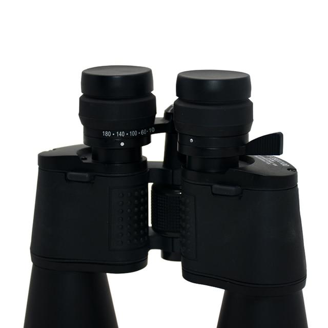 10-180x100 HD High Magnification Long Range Zoom Binoculars Camping Hunting Wide Angle Binoculars Outdoor Tourism Telescope 2
