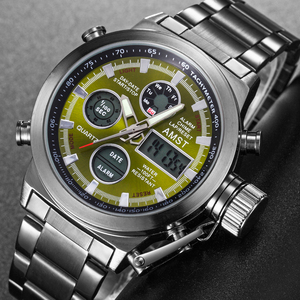 Image 4 - ใหม่ที่มีชื่อเสียงยี่ห้อผู้ชายกันน้ำเต็มรูปแบบนาฬิกาผู้ชายนาฬิกาควอตซ์นาฬิกา LED ชายกีฬานาฬิกาข้อมือนาฬิกา Relogio masculino