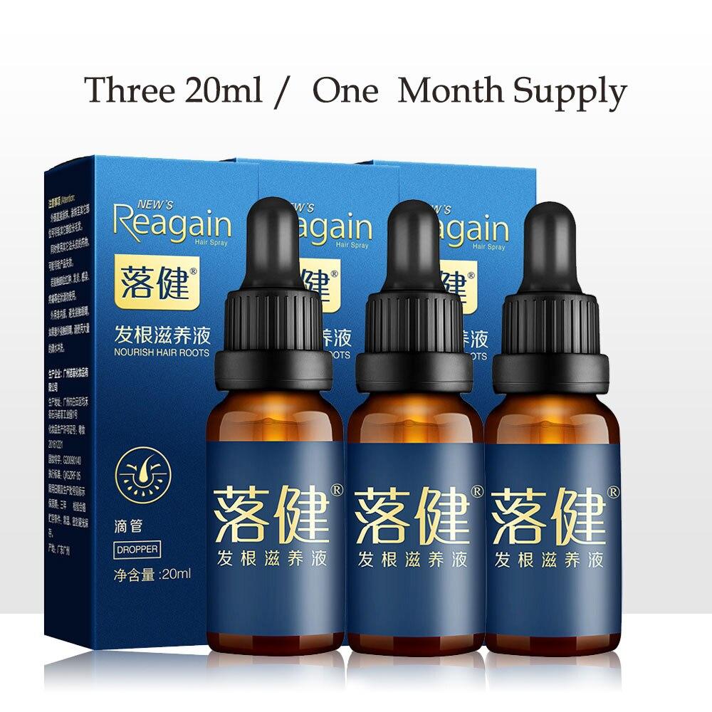 Men and Woman hair loss products Hair Growth Products Oil Hair Growth Essence Faster Grow Hair Stop Hair Loss Treatment 3pcs