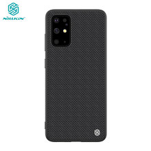 Case for Samsung Galaxy S20+ Plus / S20 FE 2020 5G Nillkin Textured Nylon Fiber Cover for Samsung Galaxy S20 Ultra Case