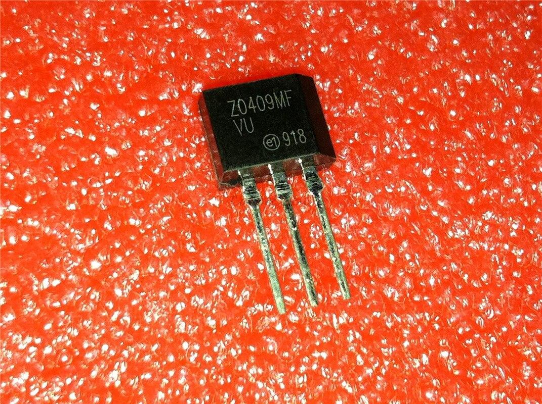 10pcs/lot ZO409MF Z0409MF TO-202 600V 4A 0.2W Original Authentic