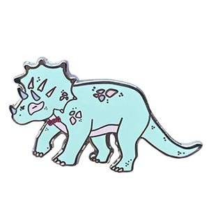 Жесткий эмалированный штифт динозавра