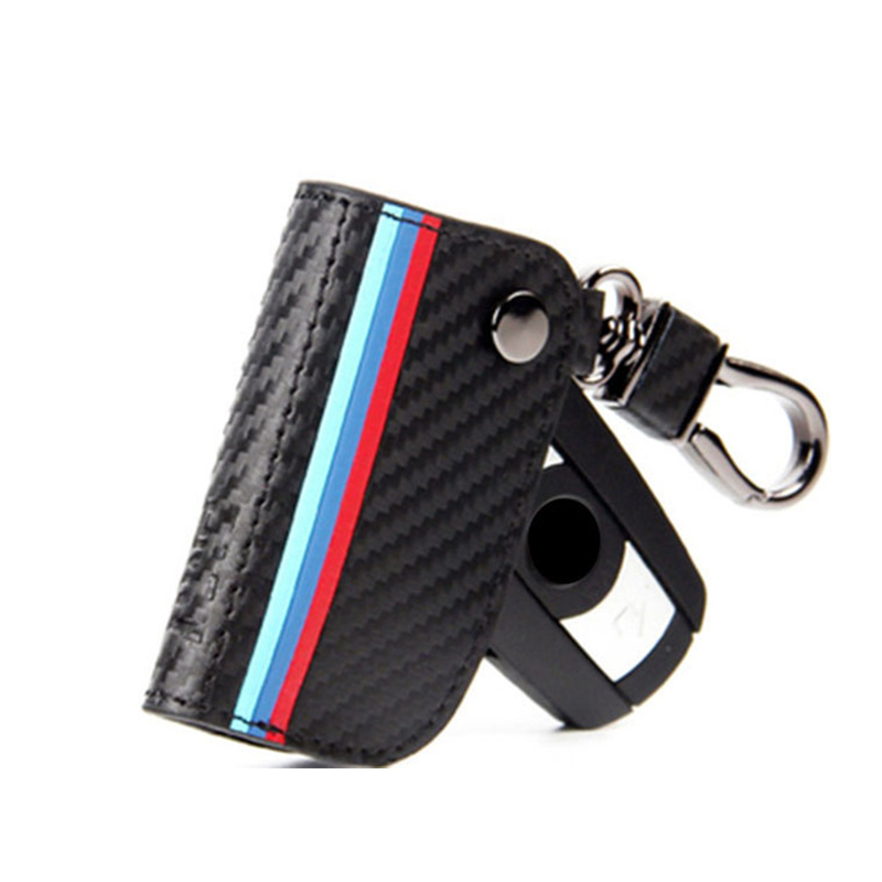 cheapest For Bmw Key Case Key Cover for Bmw E30 X5 E70 E91 G30  Serie 1 for Bmw E90 Accessories E34  X5 E53 F31 X3 E83 Leather Keychain