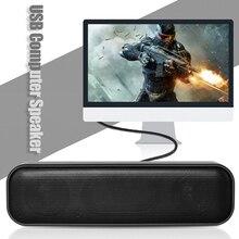 HK 5008 USB Powered Soundbar Desktop Speaker Wired Computer Sound Box for TV Desktop Laptop Computer with Two Subwoofers