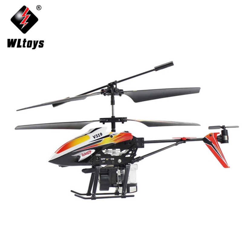 Weili V319 Water Jetting Remote Control Aircraft 3.5 Channel Built-in Gyroscope Remote Helicopter Airplane Model Toy
