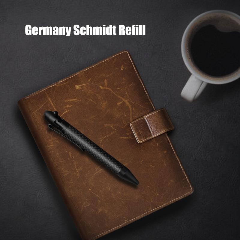 Fiber EDC Gun Pen Business Bolt Tactical Pen Carbon Pen Writing